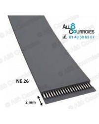 Courroie Plate NE26...