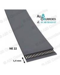 Courroie Plate NE22Longueur...
