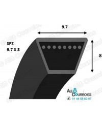 Courroie Trapézoidale Lisse SPZ1222