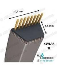 Courroie trapézoidale Kevlar 3L310