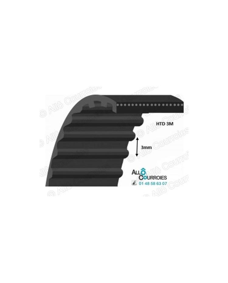 Courroie Dentée 570-3MHTD6