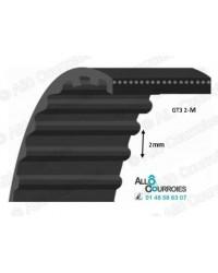 Courroie Simple Dentée Renforcée 2M600-15GT3
