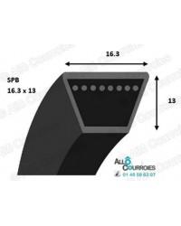 Courroie Trapézoidale Lisse SPB2180