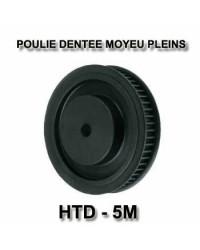 Poulies dentées HTD à moyeux pleins HD20-5M09