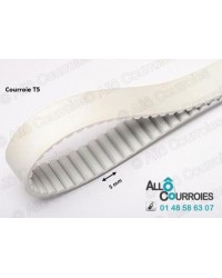 Courroie Dentée T5-25-PU/ACIER