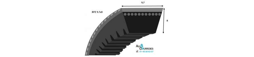 Profil XPZ 9.7x8mm