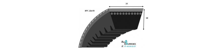 Profil XPC 22x18mm
