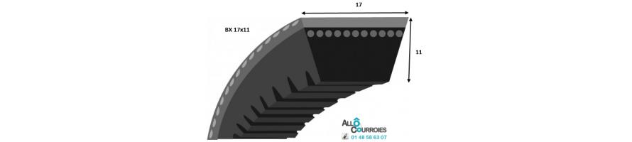 Profil BX 17x11mm