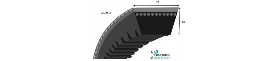 Profil CX 22x14mm