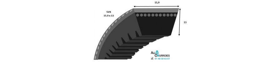 Profil 5VX 15x13mm