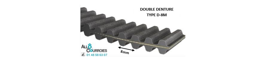 Courroie Double Dentée D8M