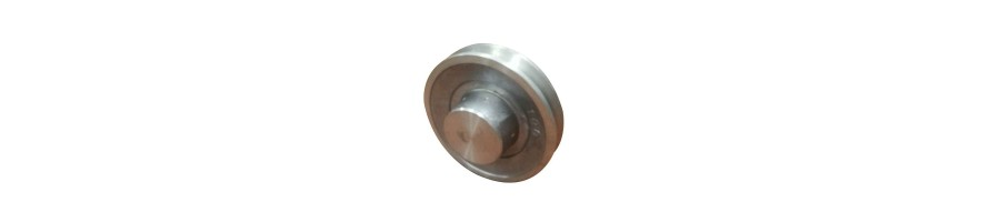 Poulie aluminium moyeu plein SPA (13X10) | Allocourroies