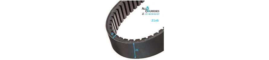 Courroie de variateur 21x6 | Allocourroies.com