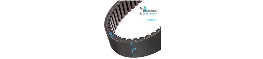 Courroie de variateur 32x10 | Allocourroies.com