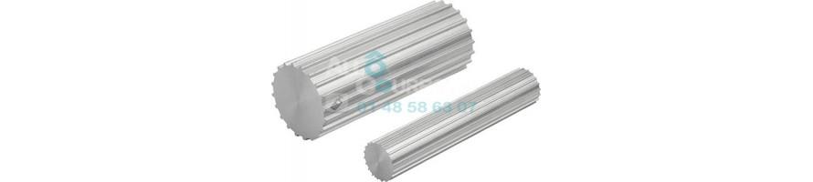 Barreau Denté T10 en aluminium 6082 | Allocourroies.com