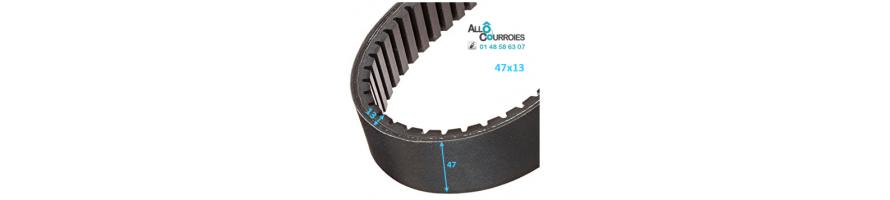 Courroie de variateur 47x13 | Allocourroies.com