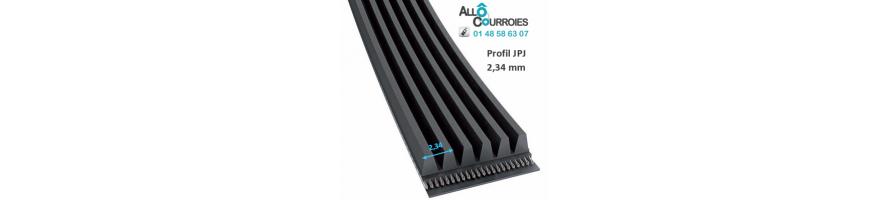 Courroies Hutchinson Convoyage Poly-v Profil PJ | Allocourroies.com