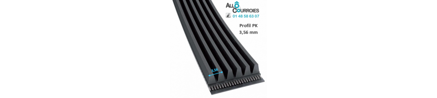 Courroie Poly-v Profil PK | Allocourroies.com