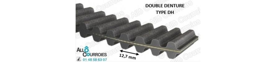 Courroie Double Dentée H
