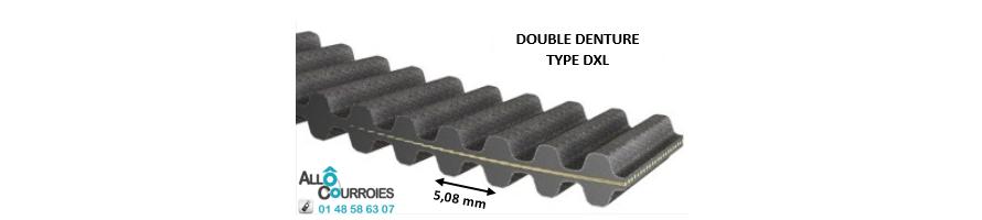 Courroie Double Dentée XL