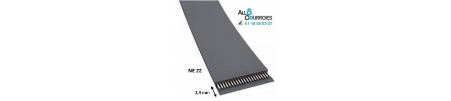 Courroie Plate NE22 | Allocourroies.com
