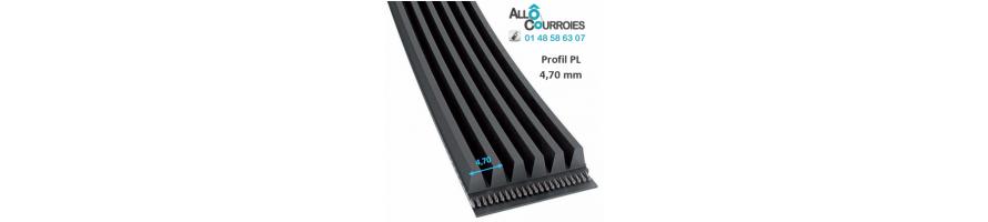 Courroie poly v profil L/PL | Allocourroies.com