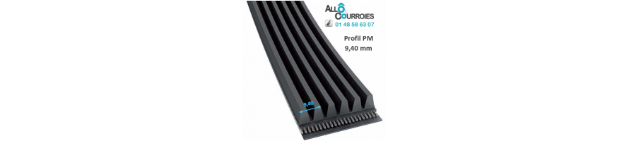 Courroie poly v profil M/PM | Allocourroies.com